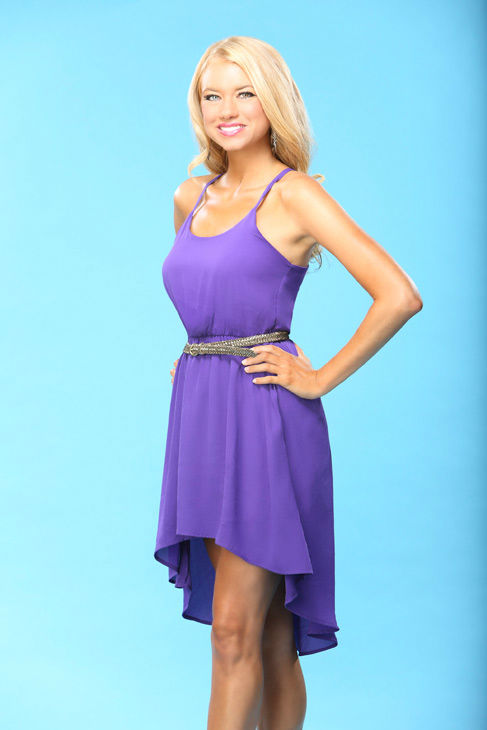 "<div class=""meta image-caption""><div class=""origin-logo origin-image ""><span></span></div><span class=""caption-text"">Kelly appears in a promotional photo for the seventeenth edition of 'The Bachelor,' which stars Sean Lowe and premieres in January 2013, on the ABC Television Network. (ABC Photo/ Kevin Foley)</span></div>"