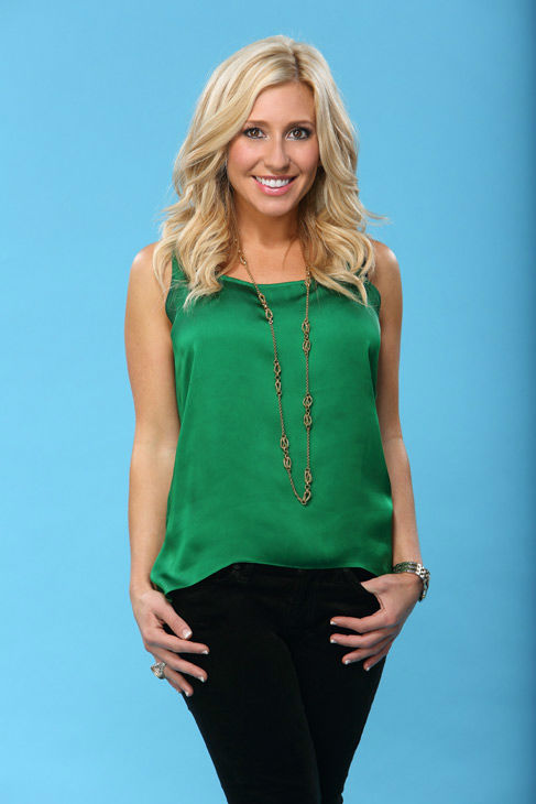 Lauren appears in a promotional photo for the seventeenth edition of 'The Bachelor,' which stars Sean Lowe and premieres in January 2013, on the ABC Television Network.