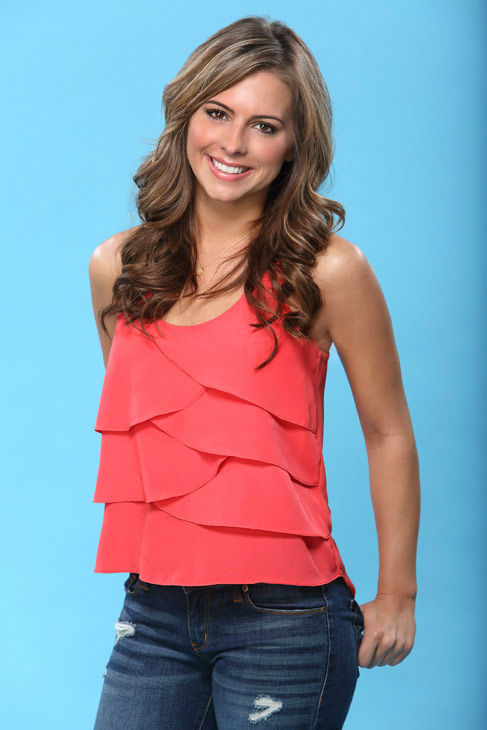 Lindsay appears in a promotional photo for the seventeenth edition of &#39;The Bachelor,&#39; which stars Sean Lowe and premieres in January 2013, on the ABC Television Network. <span class=meta>(ABC Photo&#47; Kevin Foley)</span>
