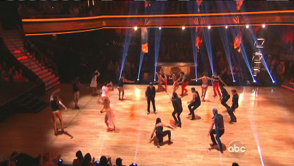 &#39;Dancing With The Stars: The Results Show&#39; on Tuesday, Oct. 2, 2012, included the season&#39;s first &#39;Macy&#39;s Stars of Dance&#39; performance, which was choreographed by Shannon Mather. The dance focused on Blake McGrath, Ian Eastwood and Tyne Stecklein who all led their groups in the performance. <span class=meta>(ABC Photo)</span>