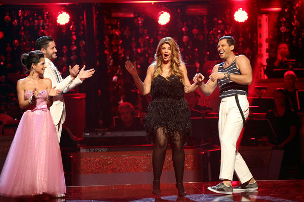 Actress Kirstie Alley and her partner Maksim Chmerkovskiy perform on week two of 'Dancing With The Stars: All-Stars,' which aired on Oct. 1, 2012.