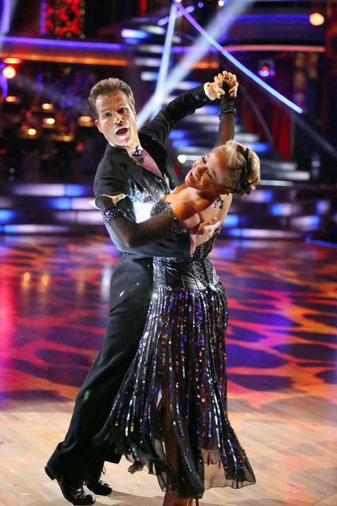 Disney Channel actress Sabrina Bryan and her partner Louis Van Amstel perform on week two of 'Dancing With The Stars: All-Stars,' which aired on Oct. 1, 2012.