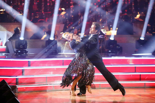 "<div class=""meta ""><span class=""caption-text "">Disney Channel actress Sabrina Bryan and her partner Louis Van Amstel perform on week two of 'Dancing With The Stars: All-Stars,' which aired on Oct. 1, 2012. (ABC Photo/ Adam Taylor)</span></div>"