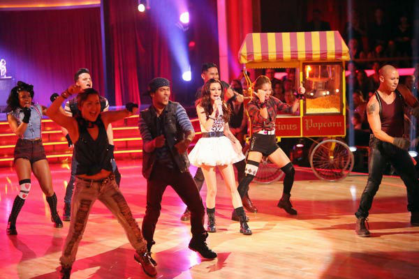 "<div class=""meta image-caption""><div class=""origin-logo origin-image ""><span></span></div><span class=""caption-text"">Cher Lloyd performed on 'Dancing With The Stars: The Results Show' on Tuesday, Oct. 2, 2012. She sang her hit single, 'Want You Back.' (ABC Photo/ Adam Taylor)</span></div>"