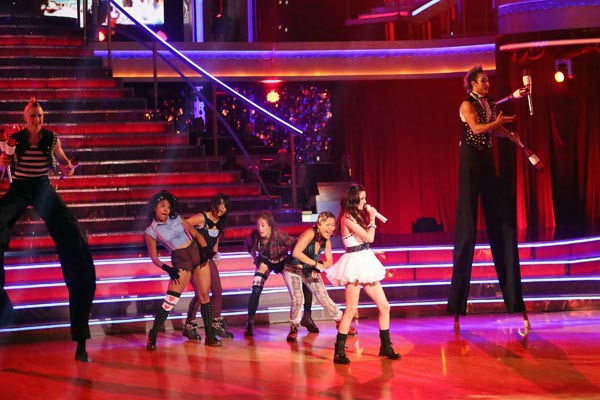 "<div class=""meta ""><span class=""caption-text "">Cher Lloyd performed on 'Dancing With The Stars: The Results Show' on Tuesday, Oct. 2, 2012. She sang her hit single, 'Want You Back.' (ABC Photo/ Adam Taylor)</span></div>"