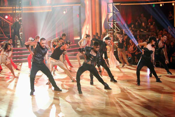 'Dancing With The Stars: The Results Show' on Tuesday, Oct. 2, 2012, included the season's first 'Macy's Stars of Dance' performance, which was choreographed by Shannon Mather.