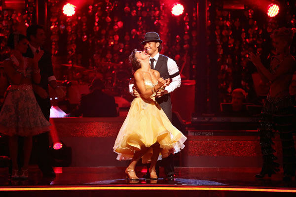 DANCING WITH THE STARS: ALL-STARS: THE RESULTS SHOW - &#34;Episode 1502A&#34; - The &#34;Dancing with the Stars: All-Stars: The Results Show&#34; aired TUESDAY, OCTOBER 2 &#40;9:00-10:00 p.m., ET&#41;, on ABC. &#40;ABC&#47;ADAM TAYLOR&#41; KARINA SMIRNOFF, APOLO ANTON OHNO <span class=meta>(ABC Photo&#47; Adam Taylor)</span>