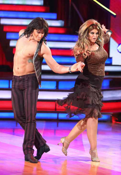 Actress Kirstie Alley and her partner Maksim Chmerkovskiy received 24 out of 30 points from the judges for their Cha Cha Cha on &#39;Dancing With The Stars: All-Stars,&#39; which aired on October 8, 2012. <span class=meta>(ABC Photo&#47; Adam Taylor)</span>
