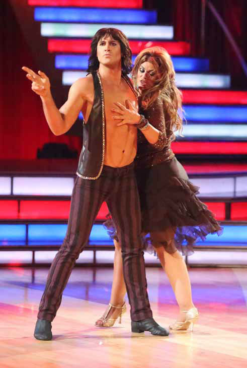 "<div class=""meta ""><span class=""caption-text "">Actress Kirstie Alley and her partner Maksim Chmerkovskiy received 24 out of 30 points from the judges for their Cha Cha Cha on 'Dancing With The Stars: All-Stars,' which aired on October 8, 2012. (ABC Photo/ Adam Taylor)</span></div>"