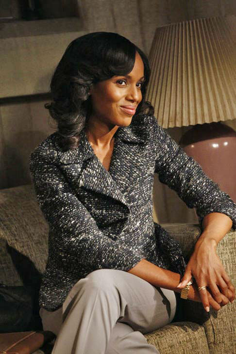 "<div class=""meta ""><span class=""caption-text "">Kerry Washington appears in the 'Scandal' season 2 episode 'Hunting Season,' which aired on Oct. 18, 2012. (ABC/VIVIAN ZINK)</span></div>"