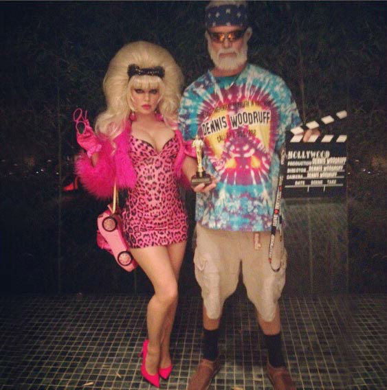 Fergie and Josh Duhamel appear in a photo posted on  Fergie&#39;s official Instagram page on October 27, 2012, with the caption, &#39;Happy Hollywood Halloween! #Halloween #Hollywood #Angelyne #DennisWoodruff @FergieFootwear.&#39; <span class=meta>(instagram.com&#47;p&#47;RSrD2OkDKU)</span>