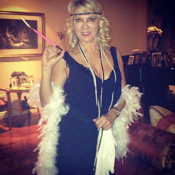 &#39;Real Housewives of New York&#39; star Ramona Singer appears in a photo  posted on her official Twitter page on October 26, 2012. <span class=meta>(twitter.com&#47;ramonasinger)</span>