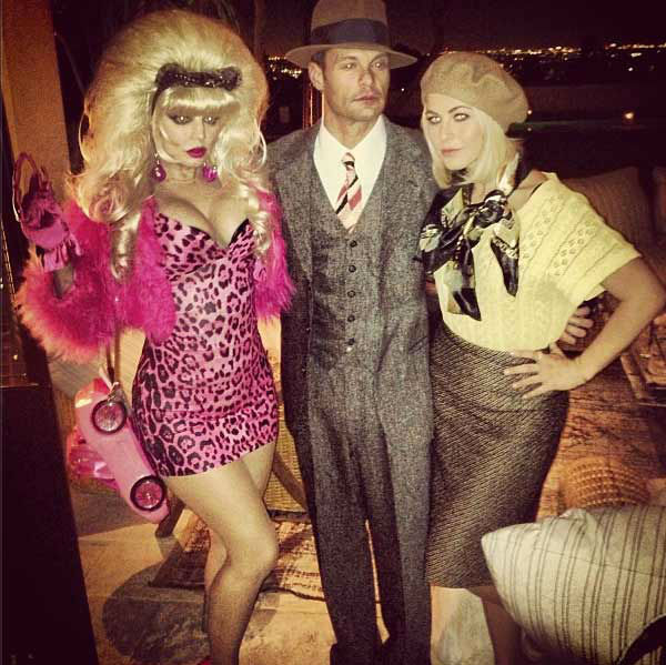 Fergie, Ryan Seacrest and Julianne Hough appear in a photo  posted o
