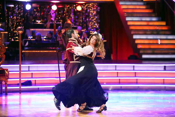 Actress Kirstie Alley and her partner Maksim Chmerkovskiy received 24 out of 30 points from the judges for their Quickstep and Samba fusion on &#39;Dancing With The Stars: All-Stars,&#39; which aired on November 5, 2012. <span class=meta>(ABC Photo&#47; Adam Taylor)</span>