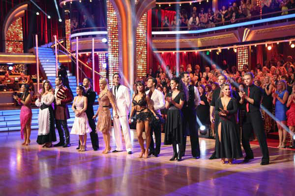 The entire cast of 'Dancing with the Stars: All Stars' appear in a still on November 5, 2012.