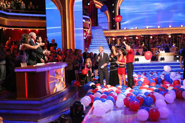 The entire cast of &#39;Dancing with the Stars: All Stars&#39; appear in a still from their group Swing dance on November 5, 2012. <span class=meta>(ABC Photo&#47; Adam Taylor)</span>