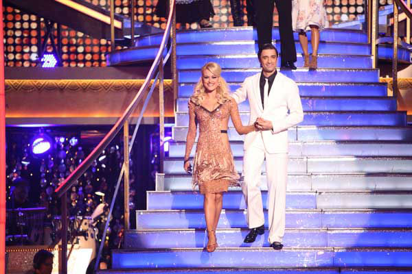 "<div class=""meta image-caption""><div class=""origin-logo origin-image ""><span></span></div><span class=""caption-text"">French actor Gilles Marini and his partner Peta Murgatroyd received 28.5 out of 30 points from the judges for their Argentine Tango and Samba fusion on 'Dancing With The Stars: All-Stars,' which aired on November 5, 2012. (ABC Photo/ Adam Taylor)</span></div>"