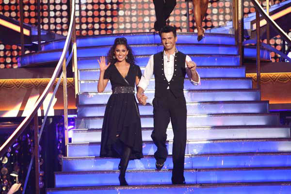 Reality star Melissa Rycroft and her partner Tony Dovolani received 29 out of 30 points from the judges for their Tango and Cha Cha Cha fusion on &#39;Dancing With The Stars: All-Stars,&#39; which aired on November 5, 2012. <span class=meta>(ABC Photo&#47; Adam Taylor)</span>