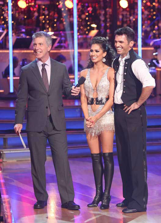 "<div class=""meta ""><span class=""caption-text "">Reality star Melissa Rycroft and her partner Tony Dovolani received 29 out of 30 points from the judges for their Tango and Cha Cha Cha fusion on 'Dancing With The Stars: All-Stars,' which aired on November 5, 2012. (ABC Photo/ Adam Taylor)</span></div>"