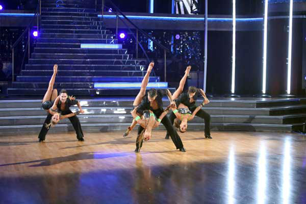 "<div class=""meta ""><span class=""caption-text "">The show's opening number on 'Dancing With The Stars: All-Stars' on November 5, 2012, was choreographed by Henry Byalikov and featured The Troupe and four pros from the season. (ABC Photo/ Adam Taylor)</span></div>"