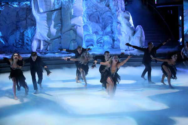 The show&#39;s opening number on &#39;Dancing With The Stars: All-Stars&#39; on November 5, 2012, was choreographed by Henry Byalikov and featured The Troupe and four pros from the season. <span class=meta>(ABC Photo&#47; Adam Taylor)</span>