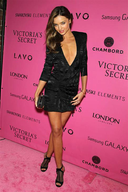 Miranda Kerr appears at the 2012 Victoria&#39;s Secret Fashion Show in New York on Nov. 7, 2012. <span class=meta>(Marion Curtis&#47;startraksphoto.com)</span>