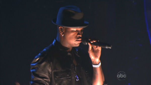 Ne-Yo performed his current hit single, 'Let Me Love You (Until You Learn to Love Yourself),' on 'Dancing With The Stars: The Results Show' on November 13, 2012.