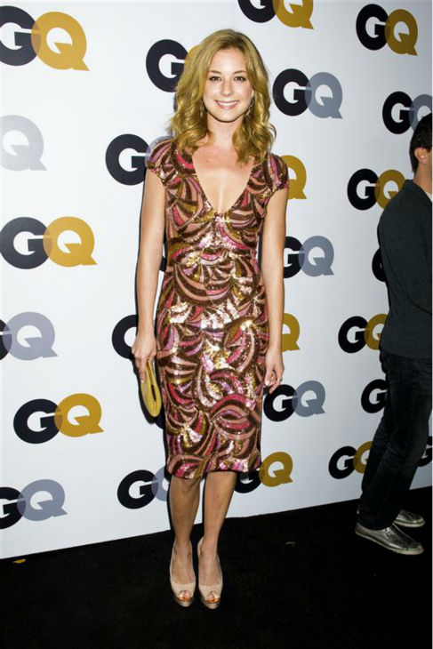 Emily VanCamp of ABC&#39;s &#39;Revenge&#39; appears at the GQ Men of the Year party at Chateau Marmont in West Hollywood, California on Nov. 13, 2012.  <span class=meta>(Justin Campbell &#47; Startraksphoto.com)</span>