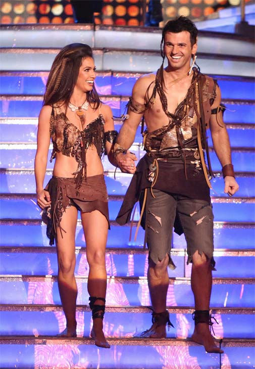 Reality star Melissa Rycroft and her partner Tony Dovolani on 'Dancing With The Stars: All-Stars' on Monday, Nov. 19, 2012.