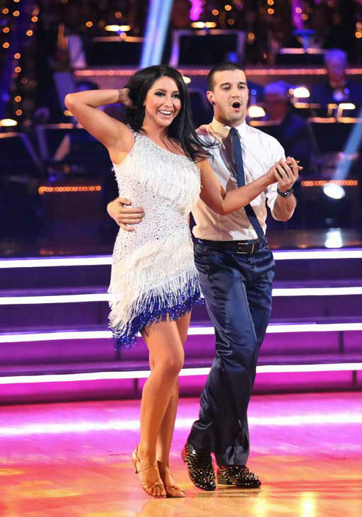 Reality star Bristol Palin and her partner Mark Ballas returned to the ballroom for the 'Dancing With The Stars: All-Stars' finale on November 27, 2012.