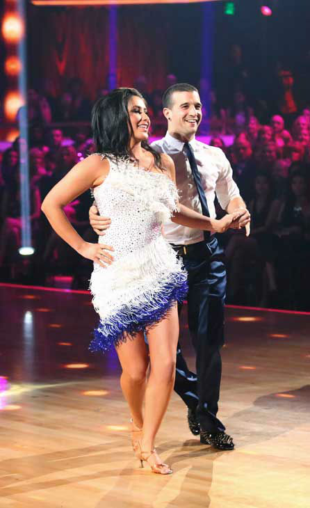 "<div class=""meta ""><span class=""caption-text "">Reality star Bristol Palin and her partner Mark Ballas returned to the ballroom for the 'Dancing With The Stars: All-Stars' finale on November 27, 2012. (ABC Photo/ Adam Taylor)</span></div>"