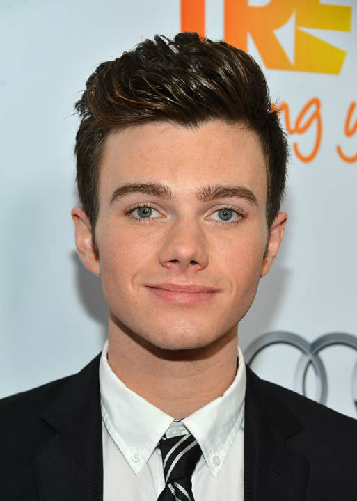 Chris Colfer attends the Trevor Project's 'Trevor Live' in Los Angeles on Sunday, Dec. 2, 2012.