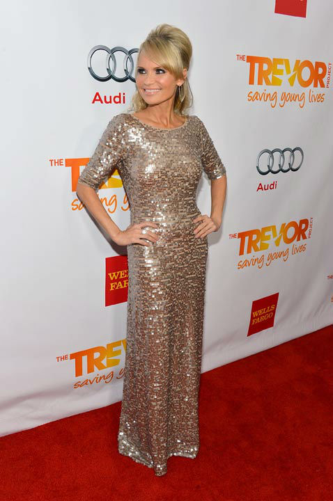 Kristen Chenoweth attends the Trevor Project&#39;s &#39;Trevor Live&#39; in Los Angeles on Sunday, Dec. 2, 2012. <span class=meta>(Getty Images for Trevor Project)</span>