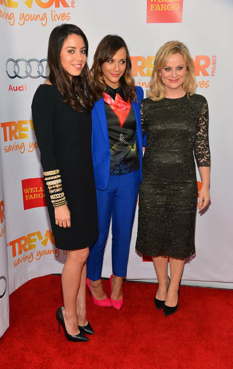 Amy Poehler attends the Trevor Project&#39;s &#39;Trevor Live&#39; in Los Angeles on Sunday, Dec. 2, 2012. <span class=meta>(Getty Images for Trevor Project)</span>