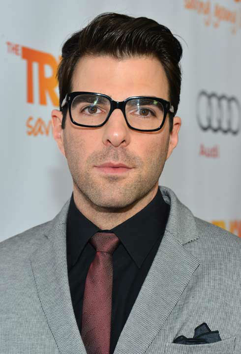 Zachary Quinto attends the Trevor Project&#39;s &#39;Trevor Live&#39; in Los Angeles on Sunday, Dec. 2, 2012. <span class=meta>(Getty Images for Trevor Project)</span>