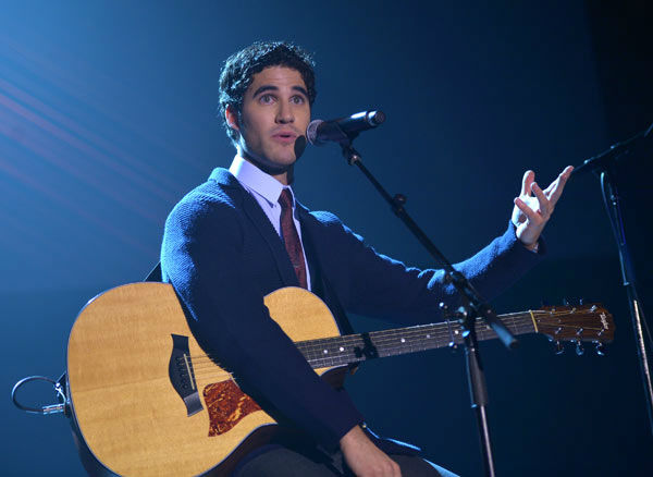 Darren Criss attends the Trevor Project's 'Trevor Live' in Los Angeles on Sunday, Dec. 2, 2012.