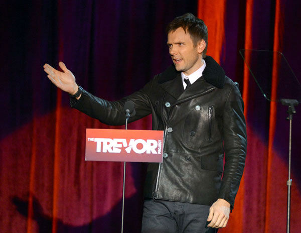 Joel McHale attends the Trevor Project&#39;s &#39;Trevor Live&#39; in Los Angeles on Sunday, Dec. 2, 2012. <span class=meta>(Getty Images for Trevor Project)</span>