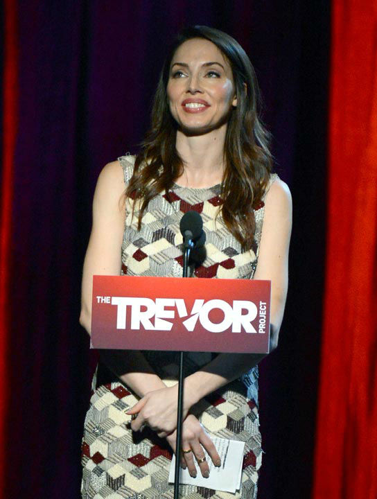 Whitney Cummings attends the Trevor Project's...