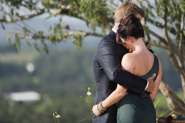 After Brad Womack had his family meet his final two bachelorettes in Cape Town, South Africa, he broke the news to Chantal O&#39;Brien that she would not be receiving the final rose and comforted her on the season 15 finale of &#39;The Bachelor,&#39; which aired on Monday, March 14.  <span class=meta>(ABC Photo&#47; Mark Wessels)</span>