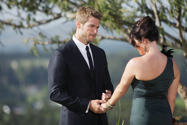 Brad Womack and Chantal O'Brien say their peace after O'Brien learns that she will not be receiving the final rose on the season 15 finale of 'The Bachelor,' which aired on Monday, March 14. d that she would not be receiving the final rose on the season 1