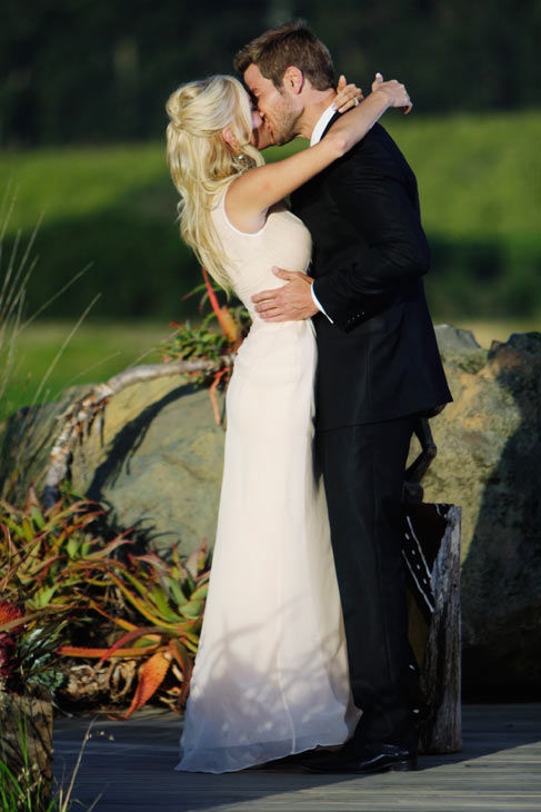 Brad Womack kisses his future wife, Emily Maynard on the season 15 finale of &#39;The Bachelor,&#39; which aired on Monday, March 14.   <span class=meta>(ABC Photo&#47; Mark Wessels)</span>