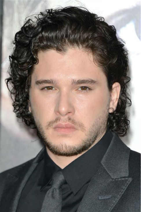 The &#39;Jon-Snow-Knows-Nothing-At-The-Game-of-Thrones&#39;-Season-3-premiere&#39; stare. &#40;Kit Harington appears at the event in Los Angeles on March 18, 2013.&#41; <span class=meta>(Tony DiMaio &#47; Startraksphoto.com)</span>