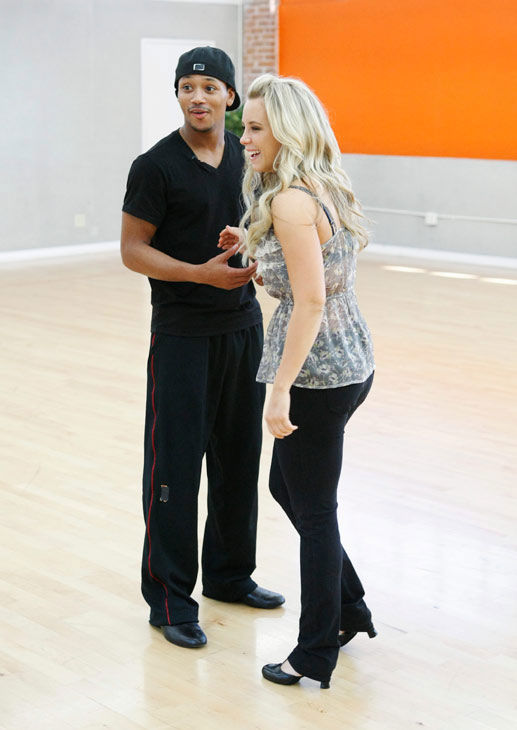 Romeo, Grammy Award-winning entertainer and CEO of No Limit Forever record company, prepares for his dancing debut with partner Chelsie Hightower during rehearsal for season 12 of &#39;Dancing with the Stars,&#39; premieres on March 21 at 8 p.m. on ABC. <span class=meta>(Photo&#47;Rick Rowell)</span>