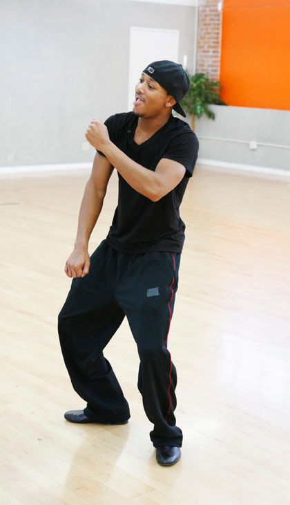 "<div class=""meta ""><span class=""caption-text "">Romeo, Grammy Award-winning entertainer and CEO of No Limit Forever record company, shows off his moves during rehearsal for 'Dancing with the Stars,' premieres on March 21 at 8 p.m. on ABC. (Photo/Rick Rowell)</span></div>"