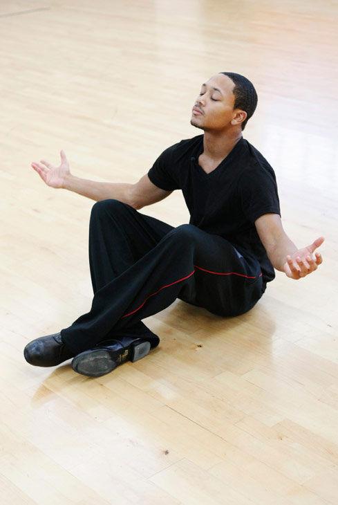 "<div class=""meta ""><span class=""caption-text "">Romeo, Grammy Award-winning entertainer and CEO of No Limit Forever record company, prays for a win during rehearsal for season 12 of 'Dancing with the Stars,' premieres on March 21 at 8 p.m. on ABC. (Photo/Rick Rowell)</span></div>"
