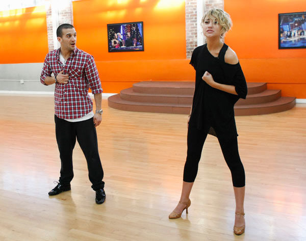 "<div class=""meta ""><span class=""caption-text "">Chelsea Kane, star of 'The Homes' web series and voice of Bea in Disney's 'Fish Hooks,' prepares for her dancing debut with partner Mark Ballas during rehearsal for season 12 of 'Dancing with the Stars,' premieres on March 21 at 8 p.m. on ABC. (Photo/Rick Rowell)</span></div>"