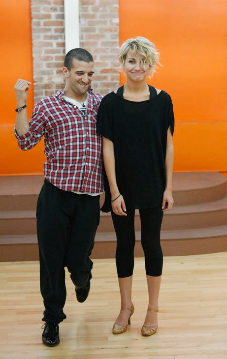 "<div class=""meta ""><span class=""caption-text "">Chelsea Kane, star of 'The Homes' web series and voice of Bea in Disney's 'Fish Hooks,' looks less than enchanted by partner Mark Ballas during rehearsal for season 12 of 'Dancing with the Stars,' premieres on March 21 at 8 p.m. on ABC. (Photo/Rick Rowell)</span></div>"