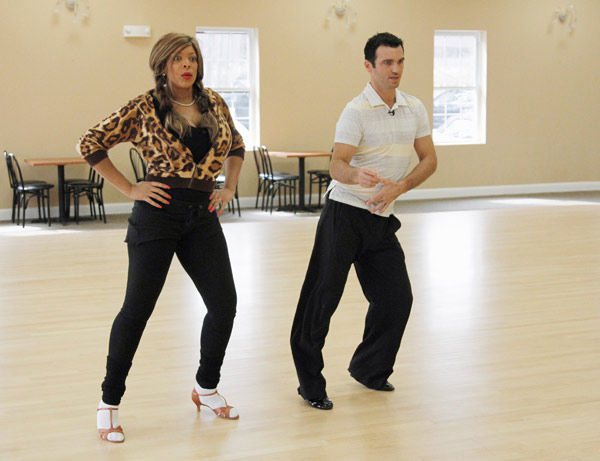 Wendy Williams, host of &#39;The Wendy Williams Show&#39; gets her groove back with partner Tony Dovolani during rehearsal for season 12 of &#39;Dancing with the Stars,&#39; premieres on March 21 at 8 p.m. on ABC. <span class=meta>(Photo&#47;Lou Rocco)</span>