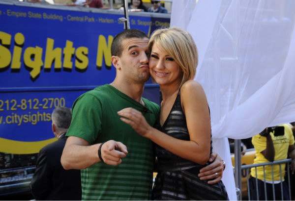 'Dancing With The Stars' finalists Chelsea Kane and Mark Ballas appear on ABC's 'Good Morning America' on May 25, 2011.