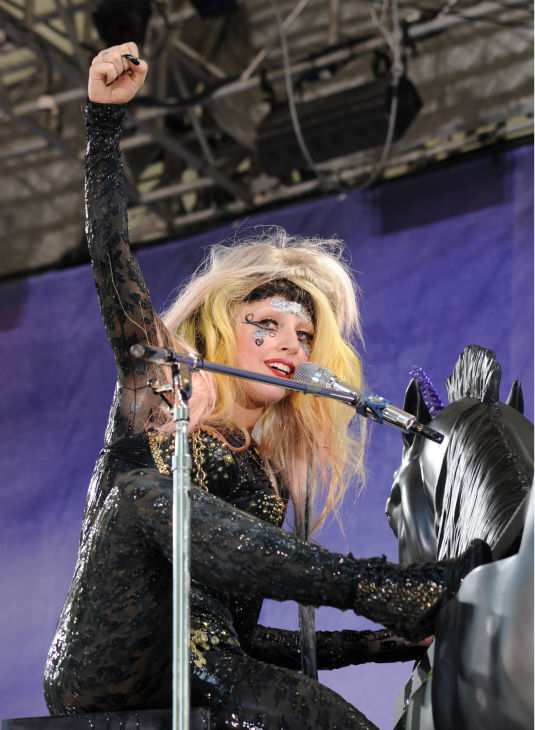 Lady Gaga performs live in Central Park to kick off the &#39;GMA Summer Concert Series,&#39; which aired on &#39;Good Morning America&#39; on May 27, 2011. <span class=meta>(ABC &#47; Donna Svennevik)</span>